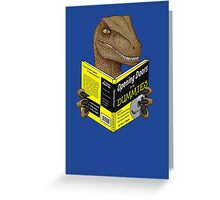Opening Doors for Dummies Greeting Card
