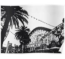 DCA In Black And White  Poster