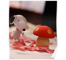 Mushroom for the penguins!!! Poster