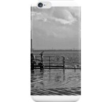 wet south coast pier 2 iPhone Case/Skin