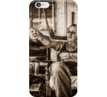 That's where the boundary is iPhone Case/Skin