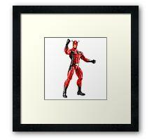 strong ant man Framed Print