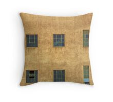 Window blocks Throw Pillow