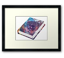 Book - Galaxy Framed Print
