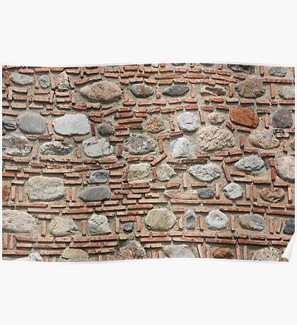 Bricks & Stones Poster
