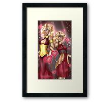 Goddesses of Love Framed Print
