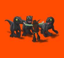 How to Train Your Dinosaur Kids Tee