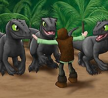 How to Train Your Dinosaur by Jeremy Kohrs