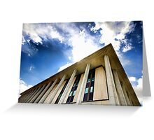 Library Sky Greeting Card