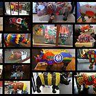 RHINO MANIA Collage  : Chester UK by AnnDixon