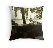 Summertime and wine - Lake of Constance, Germany Throw Pillow
