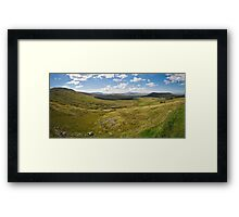 Galway Panarama Framed Print