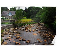 Creek of County Wicklow Poster