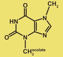 Theobromine Molecule - Chocolate Baby Tee