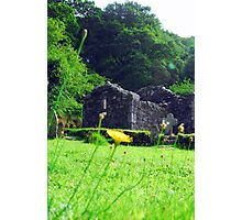 Glendalough old church Photographic Print