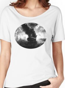 BURN THE SHIPS Women's Relaxed Fit T-Shirt