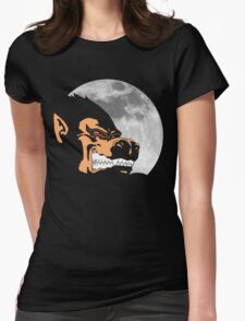 Night Monkey Womens Fitted T-Shirt