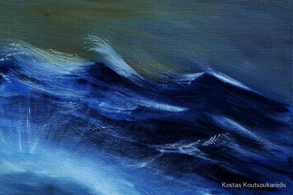 Troubled Waters (detail) by Kostas Koutsoukanidis