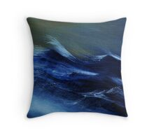 Troubled Waters (detail) Throw Pillow