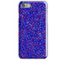 Melted Wire Pattern iPhone Case/Skin