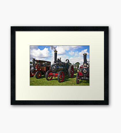 Morning Start Up Framed Print