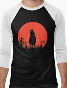 Lonesome Cowboy Men's Baseball ¾ T-Shirt