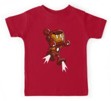 Super Iron Bomb Man Kids Tee