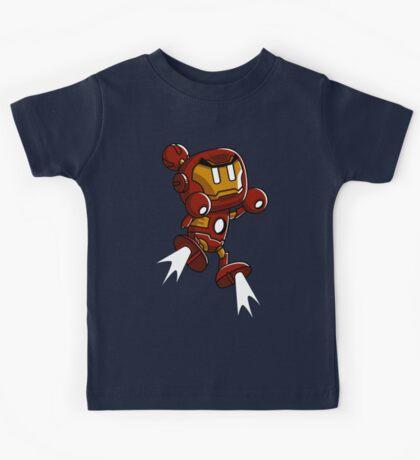 Super Iron Bomb Man Kids Tee