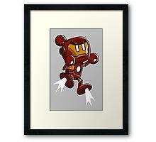 Super Iron Bomb Man Framed Print