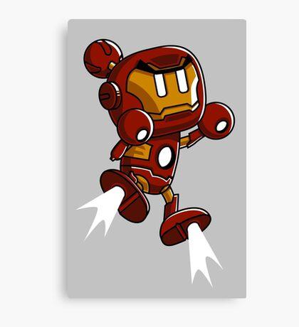 Super Iron Bomb Man Canvas Print