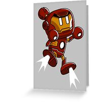 Super Iron Bomb Man Greeting Card