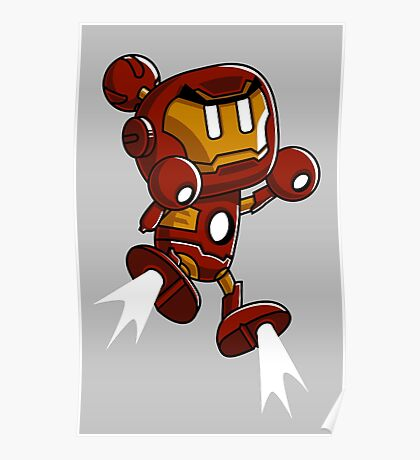 Super Iron Bomb Man Poster