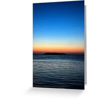 Tickled by Twilight Greeting Card