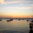 Early evening at the harbour by Maria1606