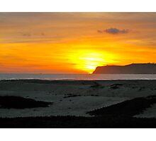 Cabrillo Sunset Photographic Print
