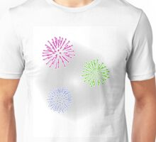Fireworks in Color Unisex T-Shirt