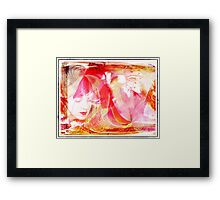 Feminine Thoughts Framed Print
