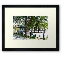 Mountain Inn in Saxony Framed Print