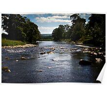 River Wharfe  Poster