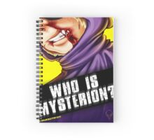 Who Is Mysterion? Spiral Notebook
