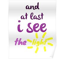 I See the Light  Poster