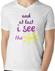 I See the Light  Mens V-Neck T-Shirt
