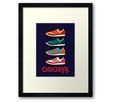 Original Kicks Framed Print
