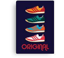 Original Kicks Canvas Print