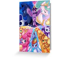 This is PONIES Greeting Card