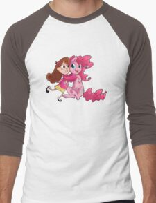 Cheek squishes Men's Baseball ¾ T-Shirt