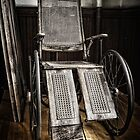 Antique Wheelchair by Myron Watamaniuk