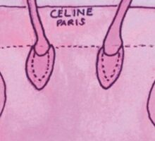 Pink Celine Sticker