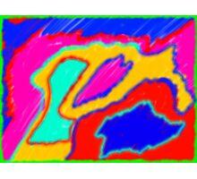 DisFocussed Graffiti  Photographic Print