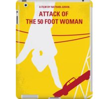 No276 My Attack of the 50 Foot Woman minimal movie poster iPad Case/Skin